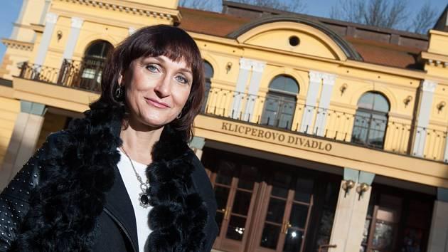 Eva Mikulková, ředitelka Klicperova divadla v Hradci Králové.