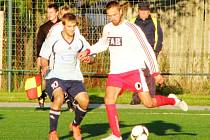 Fotbalový krajský přebor: RMSK Cidlina Nový Bydžov B - FC Spartak Rychnov nad Kněžnou.