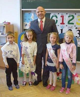 Žáci Základní školy Lhota pod Libčany.