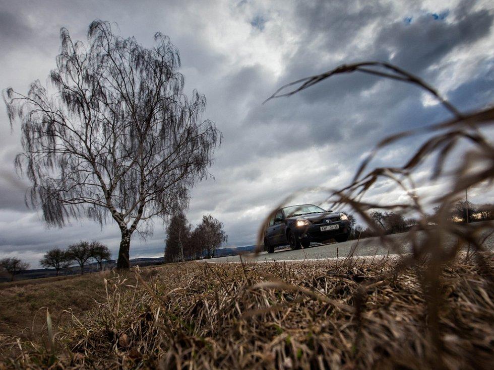 Situace spjatá se silným větrem na Královéhradecku.