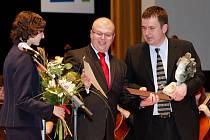 Předávání Výročních cen města 1. dubna 2009
