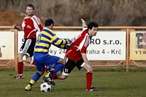 Fotbal, divize C: Živanice - AFK Chrudim (15. března 2009).