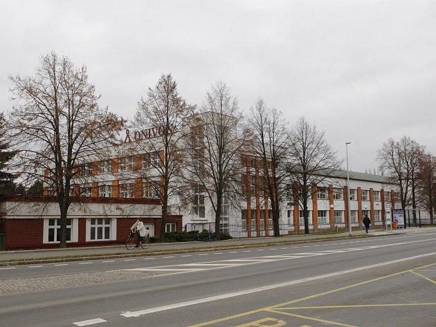 Továrna Gumokov z roku 1929 v Hradci Králové.