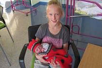 KRYŠTOF SIMON se narodil 5. října v 4.46 hodin. Svými 50 centimetry a 3300 gramy vykouzlil úsměv na tváři rodičům Martině a Igorovi Simonovým a sestře Barboře z Hradce Králové.