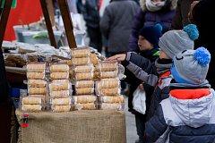 Čtvrtý ročník Betlémských trhů v Třebechovicích