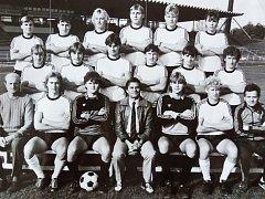Spartak Hradec Králové - dorost, mistr Československa 1986.