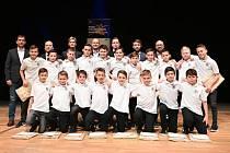 Fotbalisté FC Hradec Králové, tým kategorie U12, byli oceněni titulem Naděje Královéhradeckého sportu.