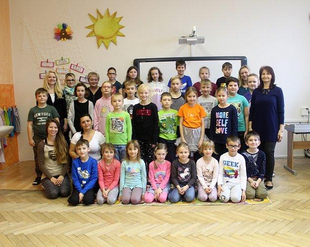 Základní škola Lhota pod Libčany - 1.třída.