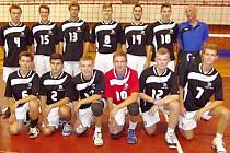Volejbaloví junioři TJ Slavia Hradec Králové.