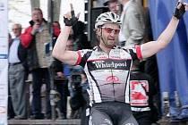Cyklista André Schulze.