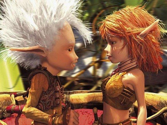 Snímek z filmu o Arthurovi