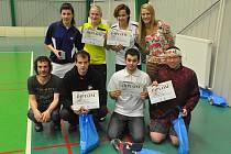 Mezinárodní turnaj neslyšících v badmintonu.