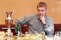 Královehradecký automobilový závodník Michal Matějovský.