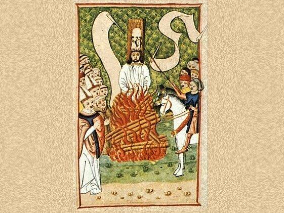 Jan Hus na hranici