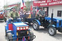 Oslava prvního máje v Jeníkovicích (1. května 2010).