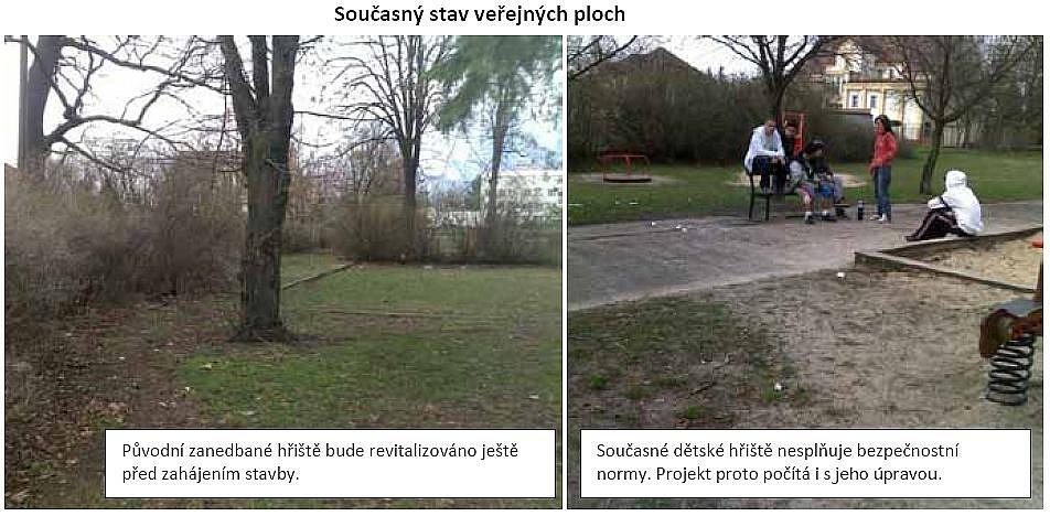 Projekt bytového domu na Moravské Předměstí: současný stav.