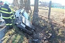 Dopravní nehoda u Vinar