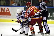 Vrchlabí (světlé dresy) - Hradec Králové (5. zápas - 19. února 2009)
