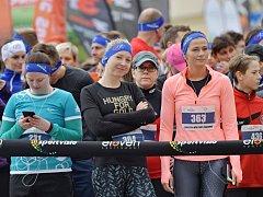Běh proti rakovině v Hradci Králové.
