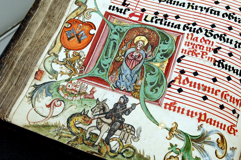 Třebechovický literátský graduál z roku 1559