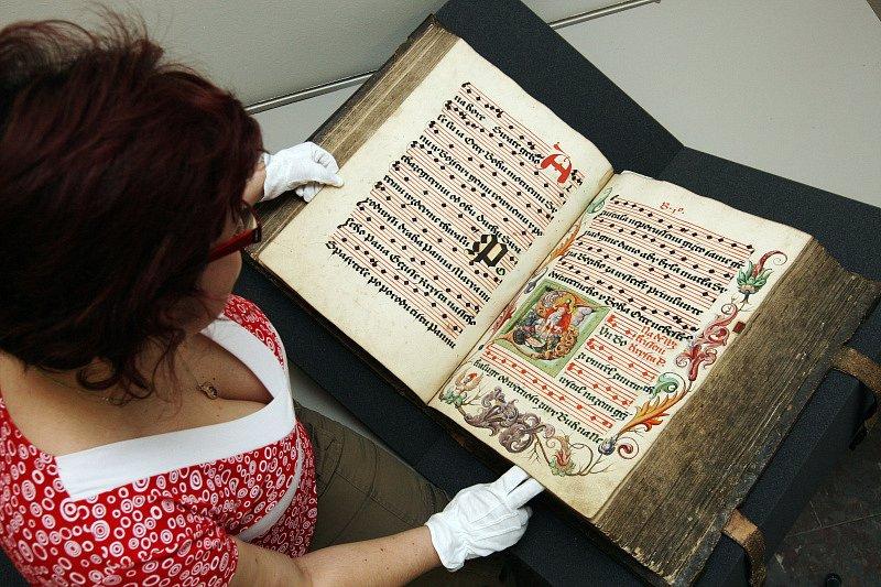Třebechovický literátský graduál z roku 1559.