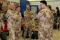 Odlet čtvrtého kontingentu polní nemocnice a chemické jednotky AČR  do Afghánistánu.