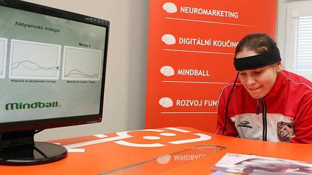 Hradecké basketbalistky 25. ledna absolvovaly speciální trénink mozku a koncentrace.