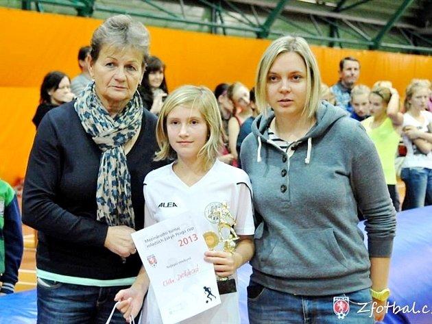 Fotbalový turnaj Praga Cup 2013 - Eliška Dvořáková.
