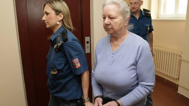 Marie Panská u Krajského soudu v Hradci Králové.