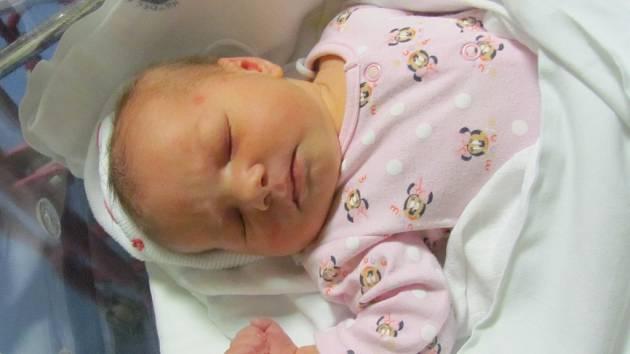 NATÁLIE ADAMOVÁ se narodila  5. prosince v 10.54 hodin. Vážila 4180 g. Potěšila rodiče Petru a Radka Adamovy z Hradce Králové. Doma se těší bráška Adámek.