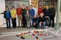 Účastníci třetího závodu ALSRacing ve Vísce u Frýdlantu.