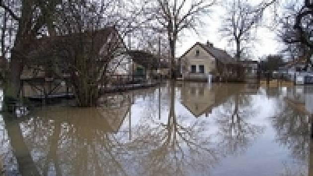 Velká voda, trvalý třebechovický problém