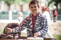 Nábřeží řemeslníků na Tylově nábřeží v Hradci Králové.