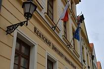 Rektorát Univerzity Hradec Králové.
