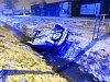 Havárie osobního automobilu v hradecké Vážní ulici.