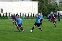 Krajská fotbalová I. B třída, skupina B: TJ Lokomotiva Hradec Králové - TJ Sokol Malšovice.