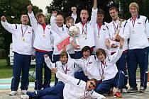 Chlumečtí mladí hasiči jsou nejrychlejší na světě. Na olympiádě obhájili dva roky staré vítězství a dále drží světové prvenství
