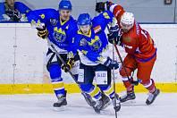 Krajská hokejová liga - čtvrtfinále play off: Nová Paka - Nové Město nad Metují.