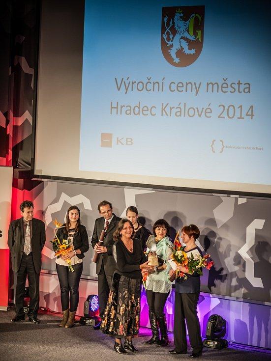 Předávání výročních cen města Hradec Králové.