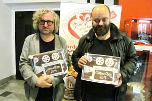 Jan Hřebejk a Petr Jarchovský.