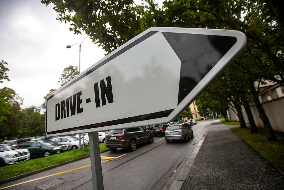 Drivein volby v Hradci Králové