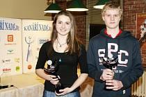 """Vyhlášení """"Kanářích nadějí"""" východočeské oblasti za rok 2011 spojené s tradičním oceněním nejlepších tenistů všech věkových kategorií podle krajského žebříčku v restauraci tenisového klubu LTC Hradec Králové."""