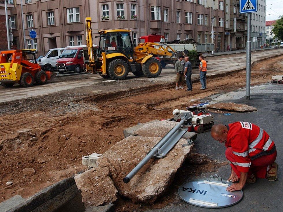 Rekonstrukce Gočárovy třídy
