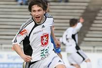 Fotbalista druholigového FC Hradec Králové Tomáš Rezek.
