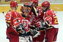 I. hokejová liga: HC VCES Hradec Králové - HC Slovan Ústečtí Lvi 1:2 po sam. náj.