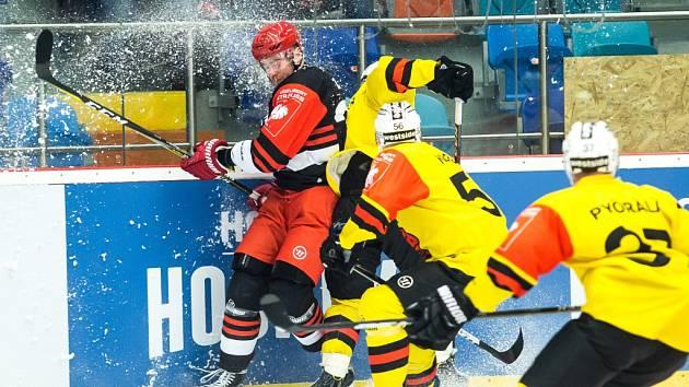 Hokejová Liga mistrů: Mountfield HK - SC Bern.