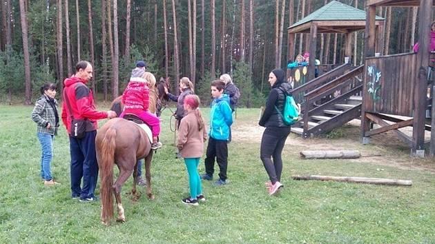 Pohádkový les v Hradci Králové.