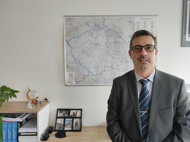 Ředitel královéhradeckých statistiků Petr Matoušek.