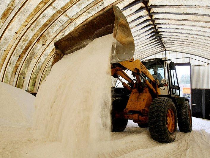 Zásoby soli technických služeb