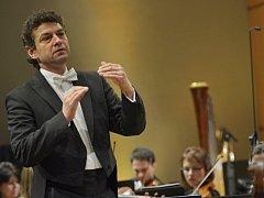 Nastupující šéfdirigent hradecké filharmonie Kaspar Zehnder.